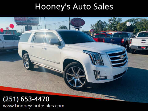 2016 Cadillac Escalade ESV for sale at Hooney's Auto Sales in Theodore AL