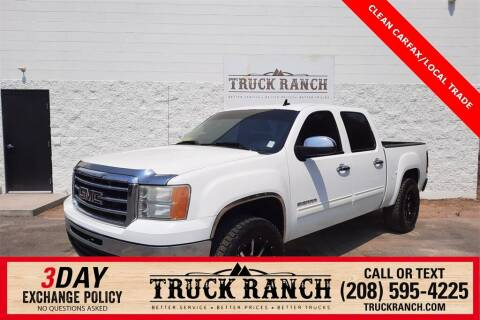 2013 GMC Sierra 1500 for sale at Truck Ranch in Twin Falls ID