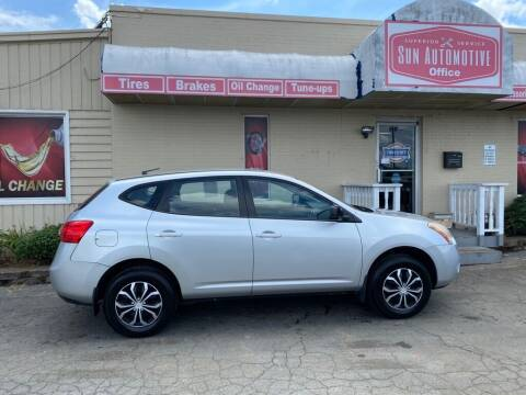 2009 Nissan Rogue for sale at SUN AUTOMOTIVE in Greensboro NC