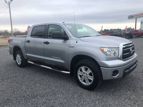 2012 Toyota Tundra for sale at RAYMOND TAYLOR AUTO SALES in Fort Gibson OK