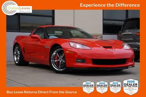 2012 Chevrolet Corvette for sale at Dallas Auto Finance in Dallas TX