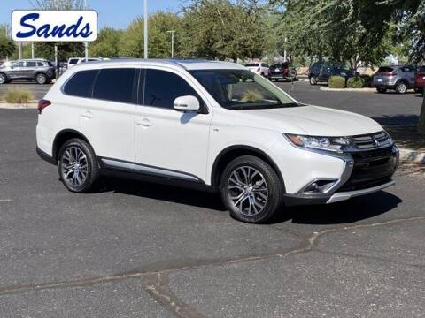 2017 Mitsubishi Outlander for sale at Sands Chevrolet in Surprise AZ
