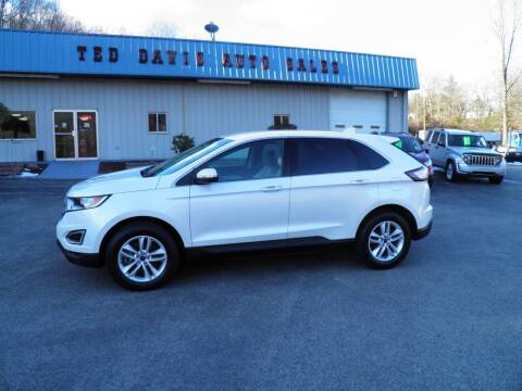 2016 Ford Edge for sale at Ted Davis Auto Sales in Riverton WV