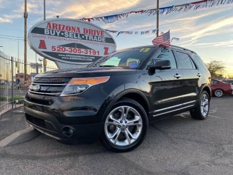 2013 Ford Explorer for sale at Arizona Drive LLC in Tucson AZ