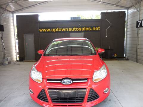 2012 Ford Focus for sale at Uptown Auto Sales in Charlotte NC
