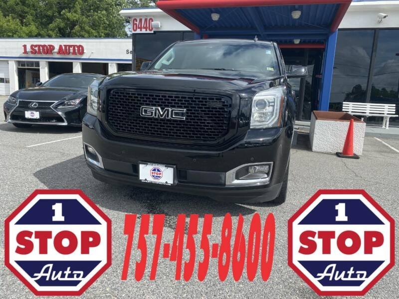 2015 GMC Yukon for sale at 1 Stop Auto in Norfolk VA