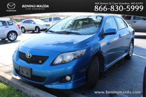 2009 Toyota Corolla for sale at Bening Mazda in Cape Girardeau MO