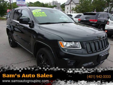 2015 Jeep Grand Cherokee for sale at Sam's Auto Sales in Cranston RI