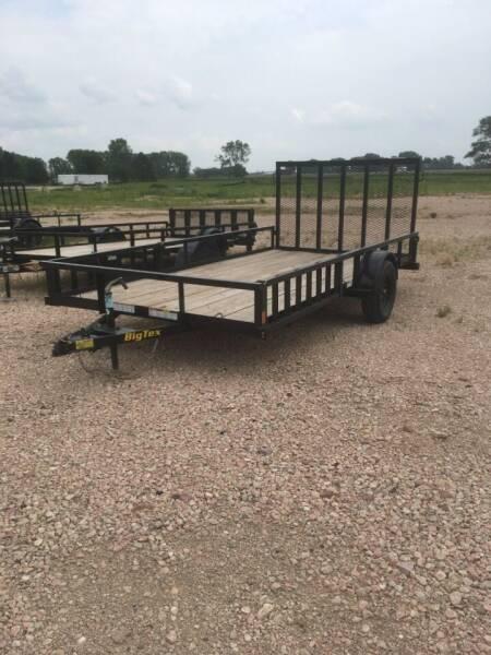 2021 Big Tex 35SA-14 RSX #0209 for sale at Prairie Wind Trailers, LLC in Harrisburg SD