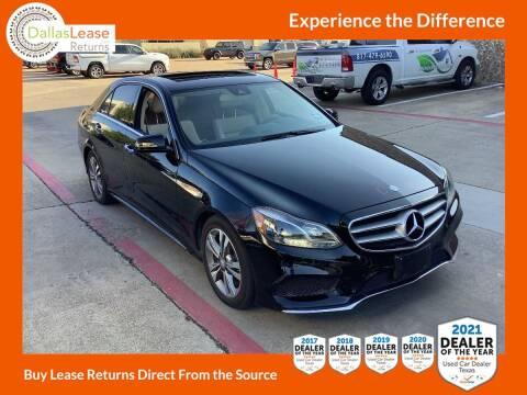 2015 Mercedes-Benz E-Class for sale at Dallas Auto Finance in Dallas TX