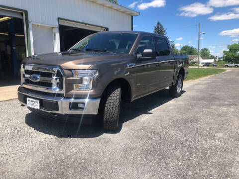 2017 Ford F-150 for sale at Purpose Driven Motors in Sidney OH