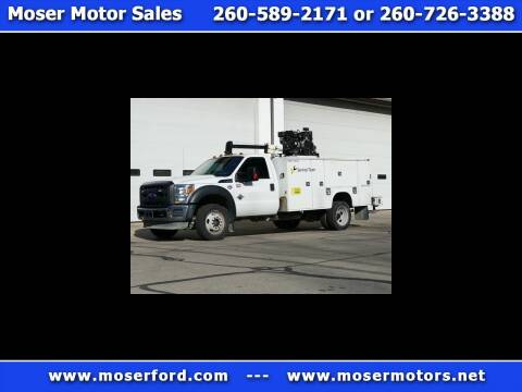 2015 Ford F-550 Super Duty for sale at Moser Motors Of Portland in Portland IN