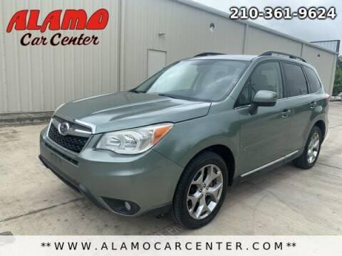2015 Subaru Forester for sale at Alamo Car Center in San Antonio TX