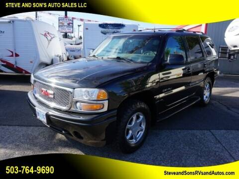 2002 GMC Yukon for sale at Steve & Sons Auto Sales in Happy Valley OR