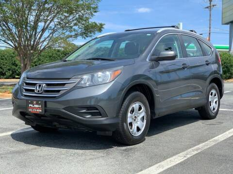 2013 Honda CR-V for sale at RUSH AUTO SALES in Burlington NC