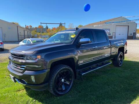 2016 Chevrolet Silverado 1500 for sale at A-1 AUTO SALES in Mansfield OH