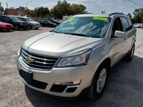 2014 Chevrolet Traverse for sale at Canyon View Auto Sales in Cedar City UT