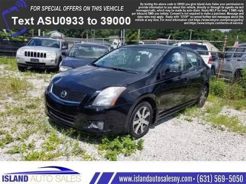 2012 Nissan Sentra for sale at Island Auto Sales in E.Patchogue NY
