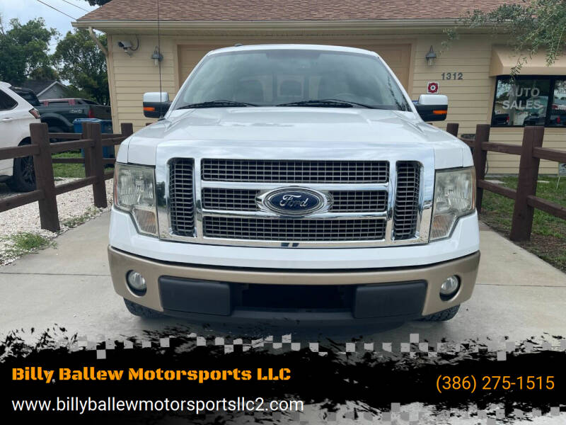 2012 Ford F-150 for sale at Billy Ballew Motorsports LLC in Daytona Beach FL
