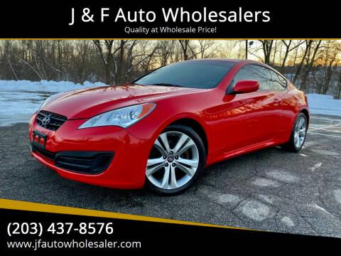 2011 Hyundai Genesis Coupe for sale at J & F Auto Wholesalers in Waterbury CT