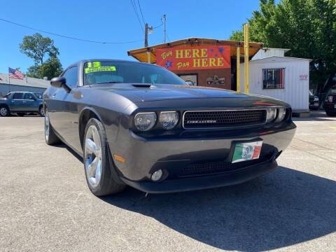 2013 Dodge Challenger for sale at ASHE AUTO SALES, LLC. in Dallas TX