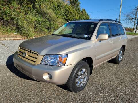 2005 Toyota Highlander for sale at Premium Auto Outlet Inc in Sewell NJ