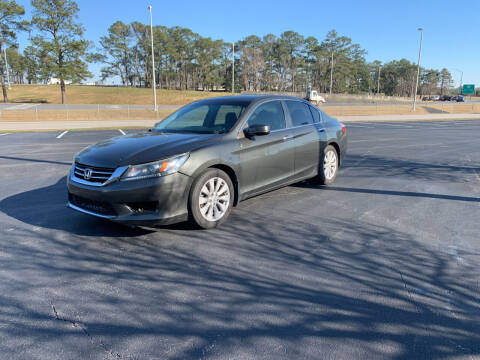 2013 Honda Accord for sale at SELECT AUTO SALES in Mobile AL