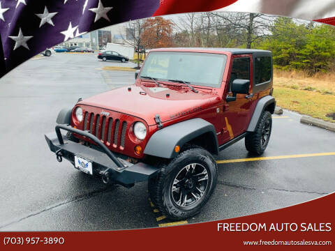 2009 Jeep Wrangler for sale at Freedom Auto Sales in Chantilly VA