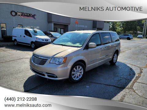 2014 Chrysler Town and Country for sale at Melniks Automotive in Berea OH