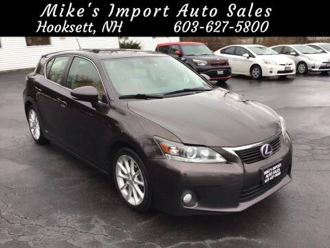 2013 Lexus CT 200h for sale at Mikes Import Auto Sales INC in Hooksett NH