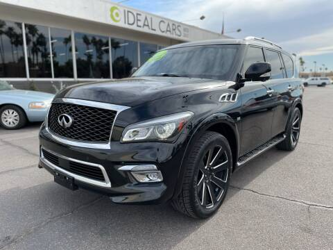 2017 Infiniti QX80 for sale at Ideal Cars Broadway in Mesa AZ
