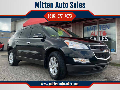 2011 Chevrolet Traverse for sale at Mitten Auto Sales in Holland MI