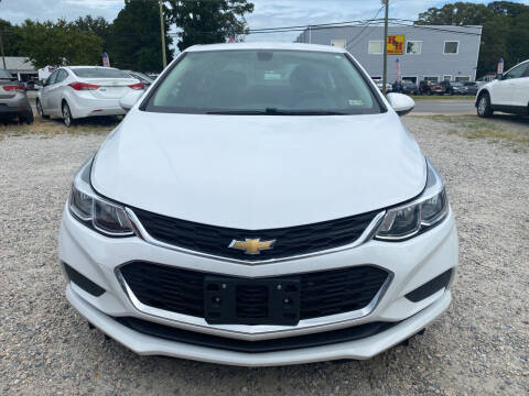 2017 Chevrolet Cruze for sale at Advantage Motors in Newport News VA