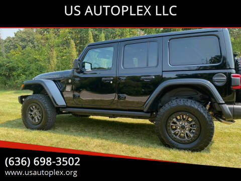 2021 Jeep Wrangler Unlimited for sale at US AUTOPLEX LLC in Wentzville MO