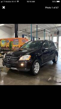 2007 Mercedes-Benz M-Class for sale at Worldwide Auto Sales in Fall River MA