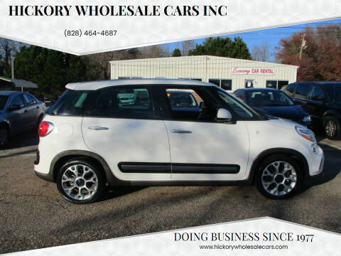 2014 FIAT 500L for sale at Hickory Wholesale Cars Inc in Newton NC