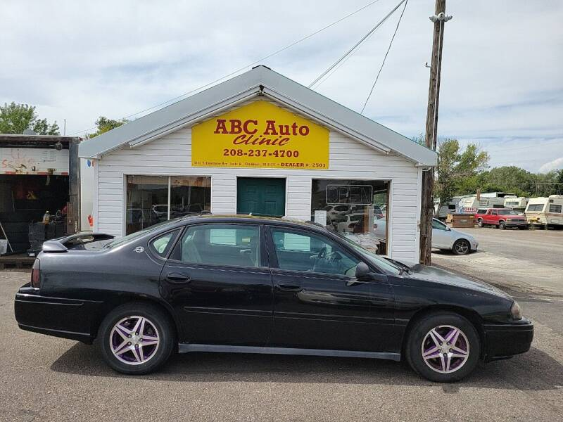 2005 Chevrolet Impala for sale at ABC AUTO CLINIC CHUBBUCK in Chubbuck ID