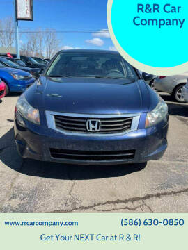 2008 Honda Accord for sale at R&R Car Company in Mount Clemens MI