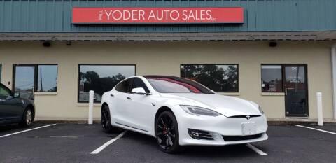 2017 Tesla Model S for sale at PAUL YODER AUTO SALES INC in Sarasota FL