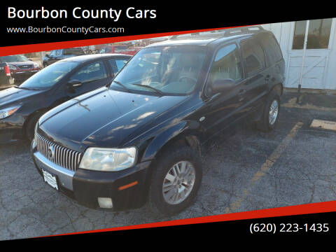 2007 Mercury Mariner for sale at Bourbon County Cars in Fort Scott KS