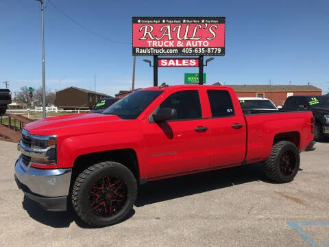 2016 Chevrolet Silverado 1500 for sale at RAUL'S TRUCK & AUTO SALES, INC in Oklahoma City OK