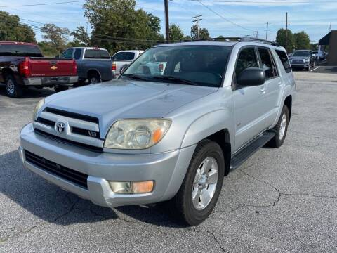 2004 Toyota 4Runner for sale at Brewster Used Cars in Anderson SC