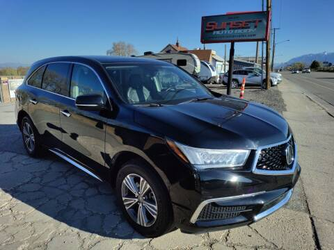 2019 Acura MDX for sale at Sunset Auto Body in Sunset UT