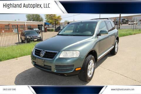 2004 Volkswagen Touareg for sale at Highland Autoplex, LLC in Dallas TX