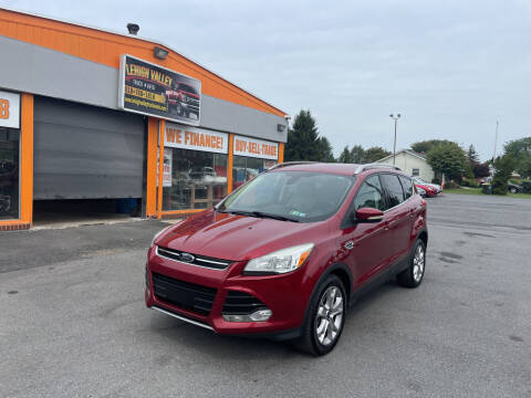 2014 Ford Escape for sale at Lehigh Valley Truck n Auto LLC. in Schnecksville PA