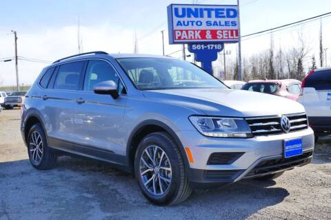 2019 Volkswagen Tiguan for sale at United Auto Sales in Anchorage AK