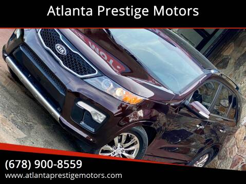 2011 Kia Sorento for sale at Atlanta Prestige Motors in Decatur GA