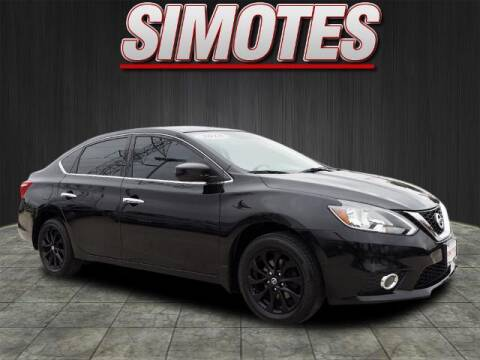 2018 Nissan Sentra for sale at SIMOTES MOTORS in Minooka IL