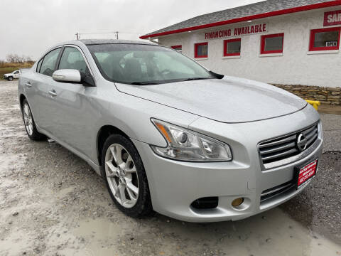 2013 Nissan Maxima for sale at Sarpy County Motors in Springfield NE