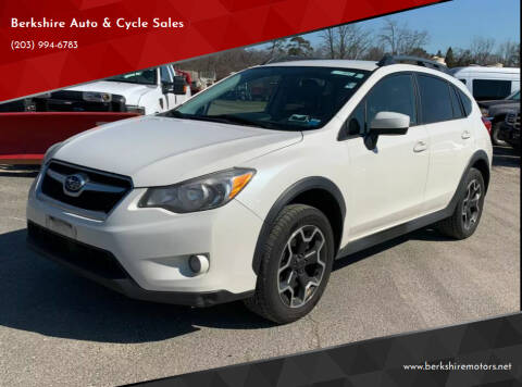 2015 Subaru XV Crosstrek for sale at Berkshire Auto & Cycle Sales in Sandy Hook CT